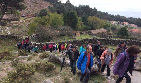 A Guarda e Caminha iniciaron as andainas de 2017 cunha ruta entre O Rosal e A Guarda