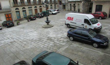 O Concello da Guarda informa da execución das obras de peatonalización parcial da Praza do Reló