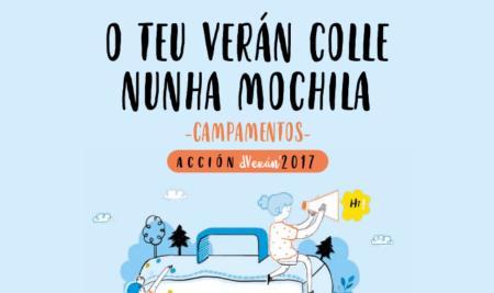 Aberto o prazo de presentación das solicitudes para os campamentos de verán 2017 da Xunta de Galicia