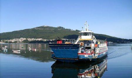 Horario semanal do ferry A Guarda – Caminha ata o domingo 2 de xullo