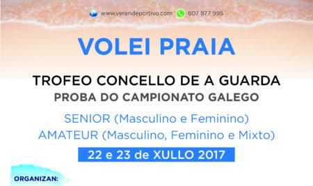 As inscricións no Trofeo de Volei Praia da Guarda na categoría amateur estarán abertas ata o venres
