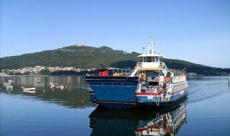 Horario semanal do transbordador A Guarda – Caminha do martes 5 ao domingo 10 de decembro