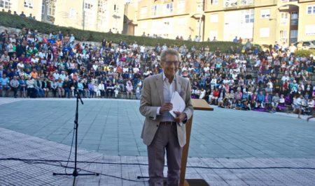 Mouriño inaugura oficialmente as Festas do Monte nun Auditorio de San Bieito cheo e unido co Celta