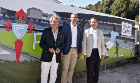 Abel Caballero, Carlos Mouriño e Antonio Lomba inauguran as novas rúa de Vigo e rúa do Celta