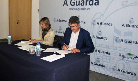 O Concello e a Axencia de Turismo de Galicia asinan  o convenio para a construción da Porta do Trega