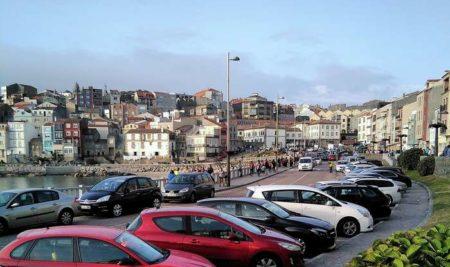 A Policía Local da Guarda vixiará e regulará o aparcamento na rúa do Porto