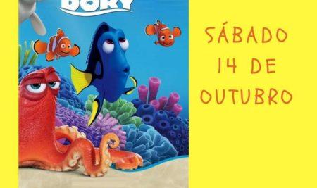 O ciclo «Cinema volta ao cole» comeza este sábado co filme «Buscando a Dory»