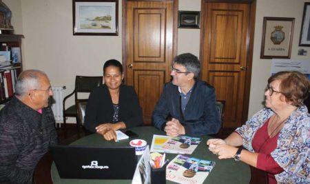 A técnica medioambiental de Cabo Verde Paula Pina formarase no Concello durante tres días