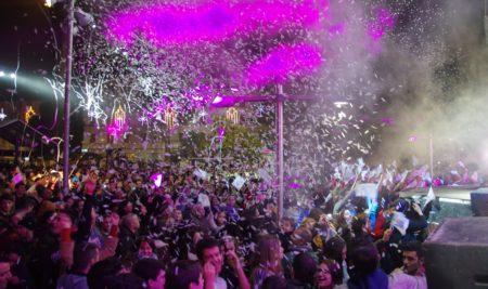 O concerto solidario de Panorama recada 2.240 kilos de alimentos e 2.859 € na venda de rifas