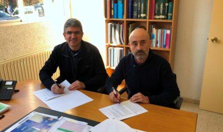 O Concello da Guarda e o IES da Sangriña asinan un convenio para a utilización do pavillón escolar