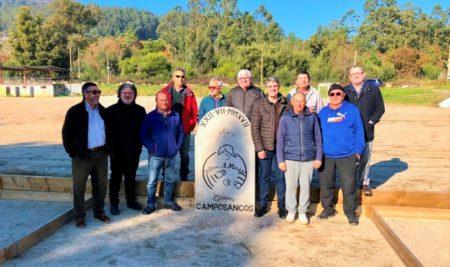 A Guarda conta con catro novas pistas de petanca no antigo campo de fútbol do Codesal