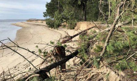 O Concello urxe a tramitación de emerxencia da reparación do litoral na Lamiña e o Codesal