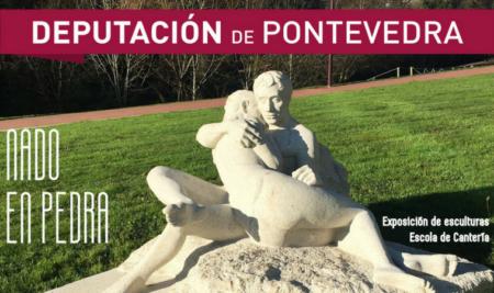 A mostra de esculturas «Nado en pedra» chega mañá ao Castelo de Santa Cruz