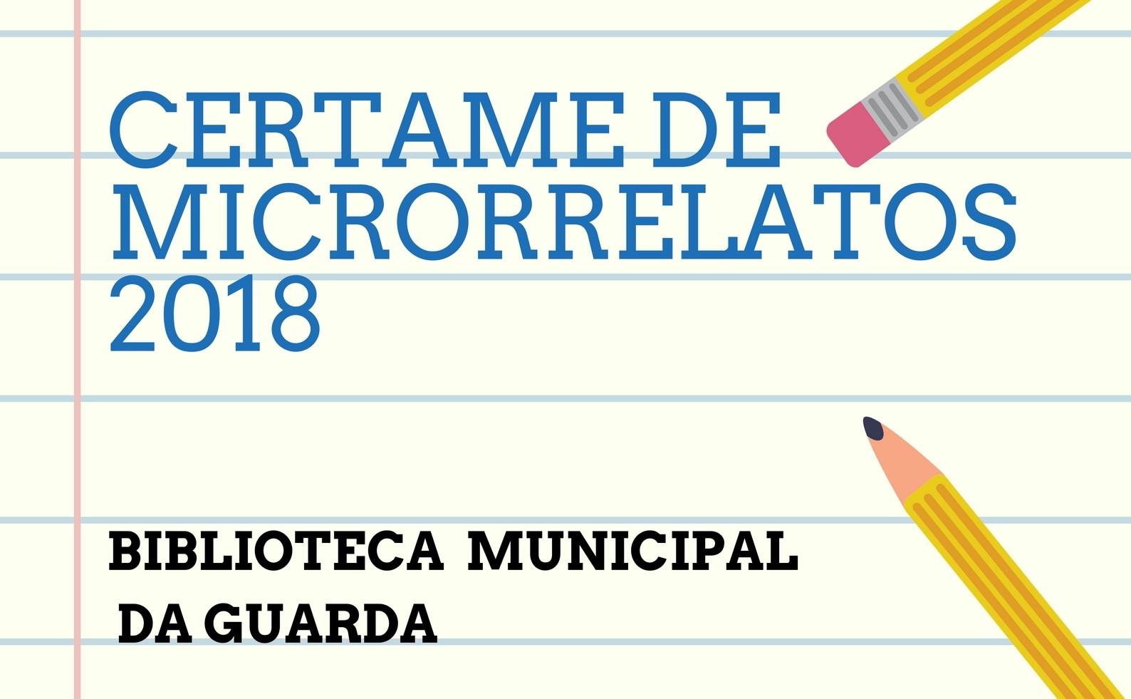 Certame de microrrelatos 2018