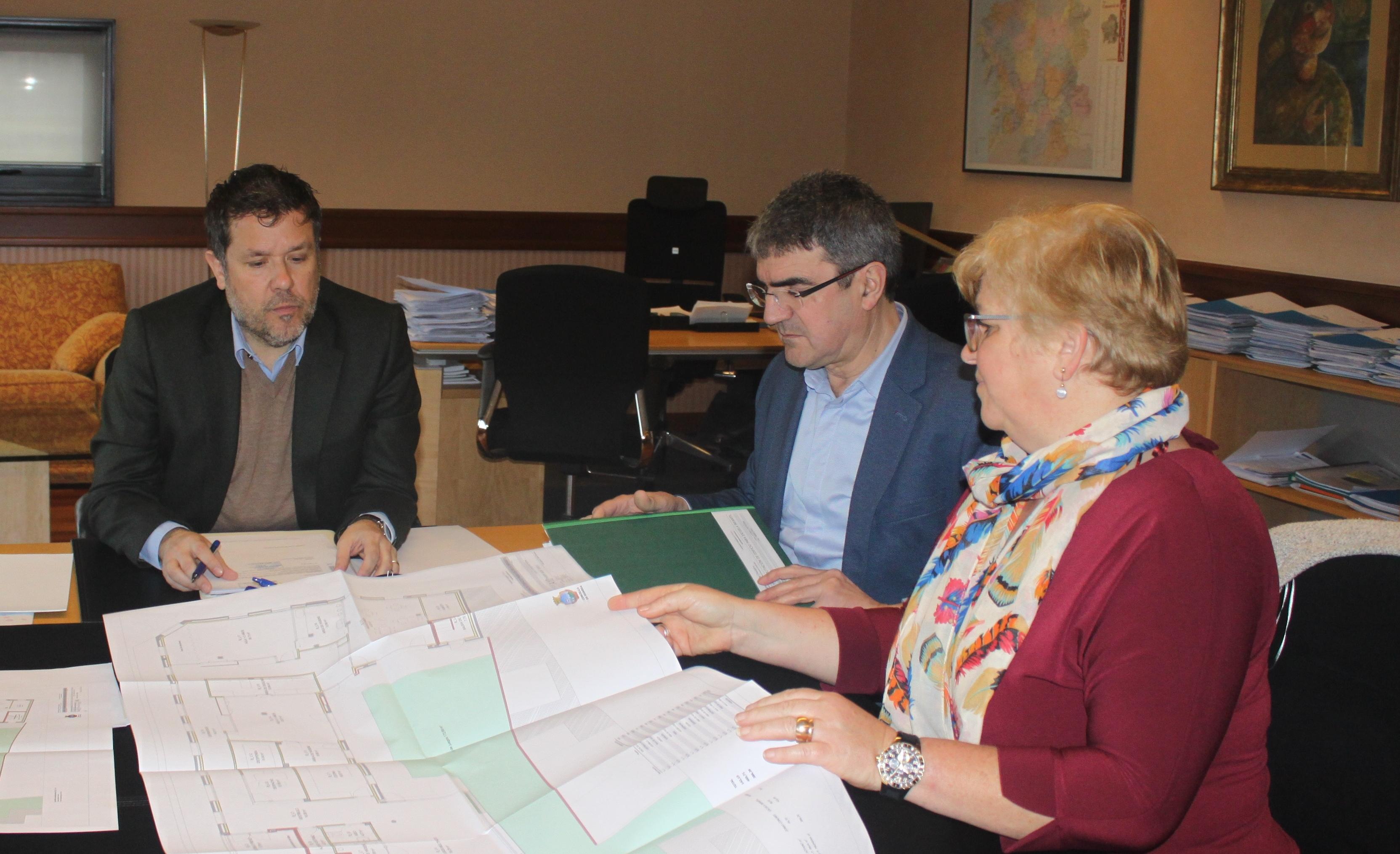 Concello e Concorcio valoran o proxecto de construción da nova escola infantil municipal da Guarda