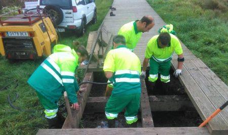 A Xunta redacta un proxecto de mellora do colector de saneamento do Rosal e A Guarda