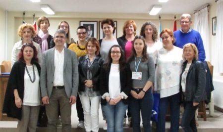 O CEIP M.R. Sinde recibiu a 15 mestres europeos participantes nun proxecto Erasmus+