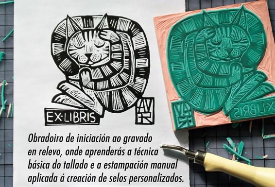 Obradoiro de selos estampables