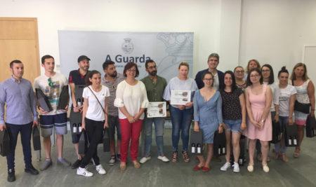 A Guarda entrega os premios da ruta Tapearte 2018