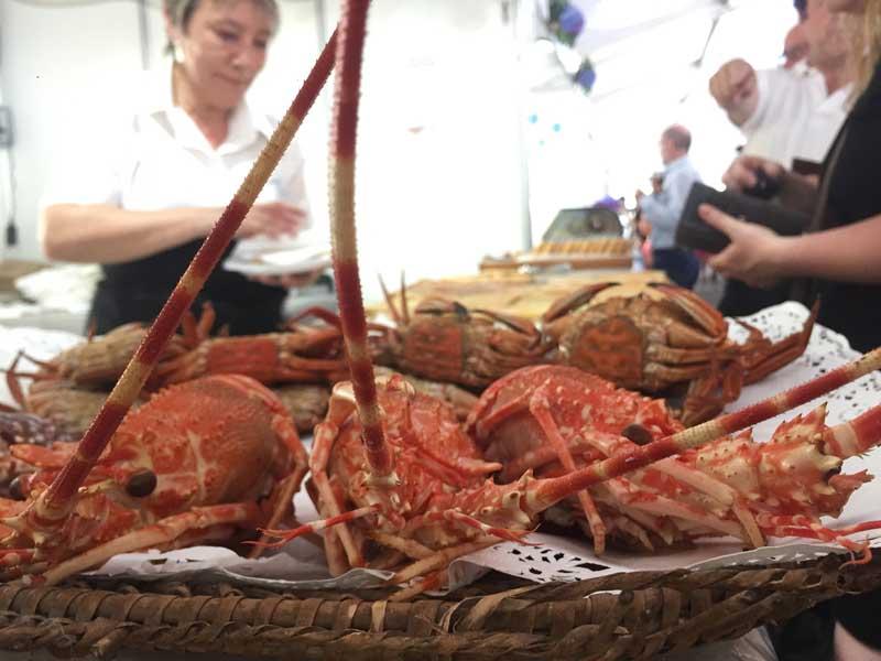 A Guarda acolleu na xornada do sábado 7 de xullo a segunda xornada da XXVIII Festa da Langosta e da Cociña Mariñeira, unha festa de Interese Turístico de Galicia, que atrae a milleiros de visitantes de todas partes de Galicia, España e Portugal.