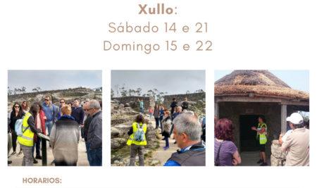 A Guarda ofrece visitas guiadas regulares e gratuítas ao Monte Santa Trega os dous próximos fins de semana de xullo