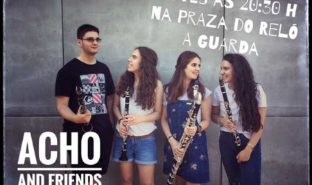 Acho and Friends actúa este xoves na Guarda