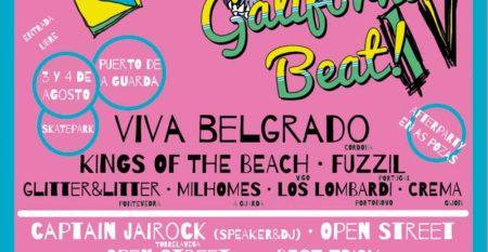 A Guarda acolle o 3 e 4 de Agosto a IV edición do Galifornia Beat