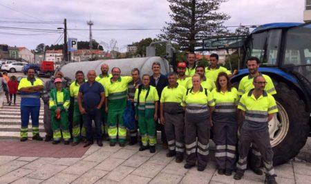 O Concello da Guarda agradece o traballo  e o esforzo das brigadas de limpeza durante as Festas do Monte