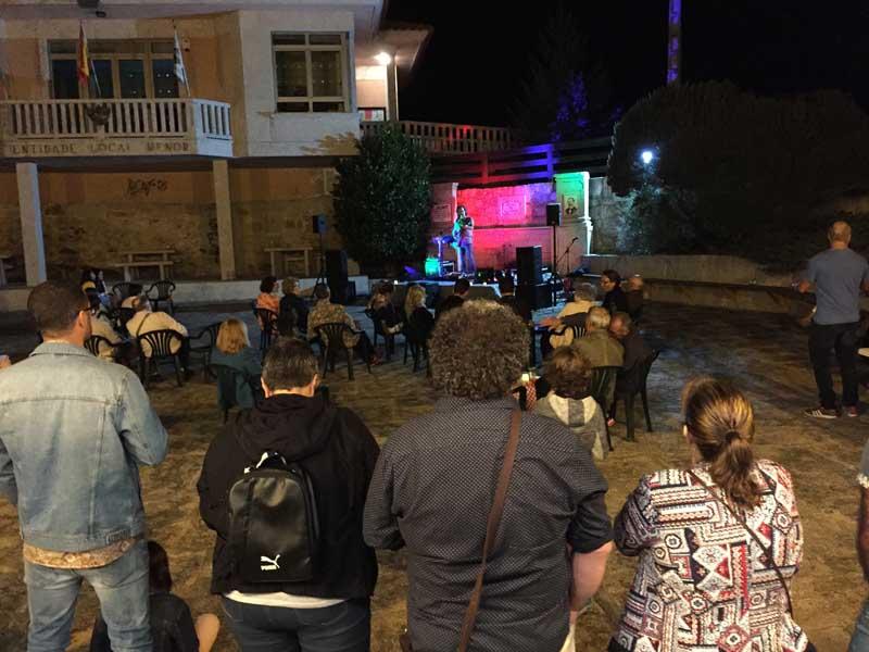 O pasado venres día 24 de agosto de 2018, a Praza de San Amaro de Camposancos acolleu a segunda cita de Música nas Prazas 2018 coa actuación de «BieitoSolo».