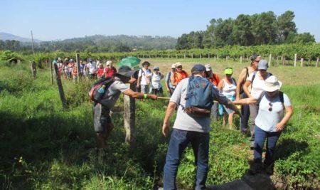 Veciños da Guarda e Caminha participaron este sábado na Ruta da Cova Moura