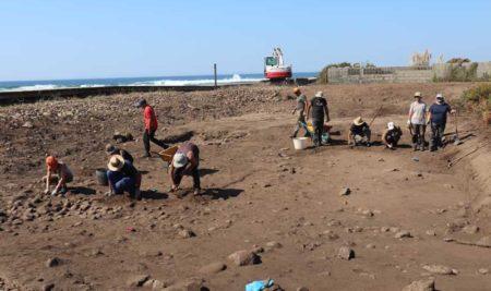 Inicio dos traballos de escavación arqueolóxica do proxecto «A Guarda, Mar de Sal»