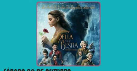 NP 15102018 Cinema infantil coa proxección de «La Bella y La Bestia» este sábado 20 de outubro