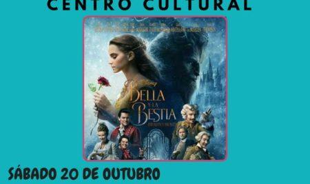 Cinema infantil coa proxección de «La Bella y La Bestia»  este sábado 20 de outubro