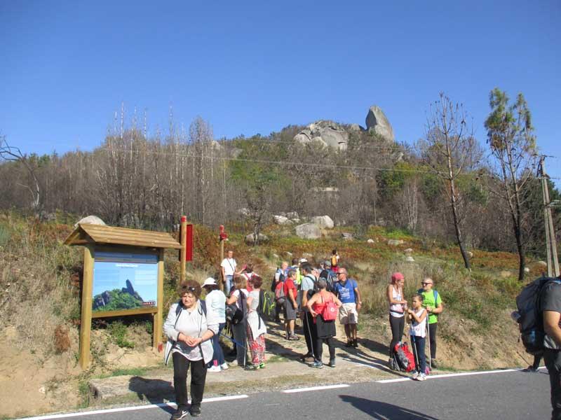 O pasado sábado día 20 de outubro celebrouse a segunda saída, na que os participantes realizaron unha andaina duns 15 km polo Monumento Natural de Pena Corneira.