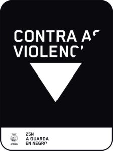 O Concello da Guarda, acaba de sumarse ao protocolo de colaboración para a organización conxunta da campaña de sensibilización En Negro contra as Violencias, no marco do Día Internacional contra a Violencia de Xénero, o vindeiro 25 de novembro, coa que se pretende tinguir de negro as vilas e cidades galegas.