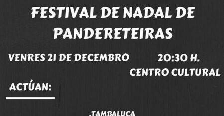 Copia De FESTIVAL DE NADAL DE PANDERETEIRAS