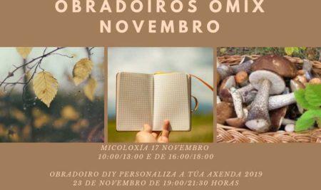 A OMIX da Guarda oferta dúas novas actividades en novembro