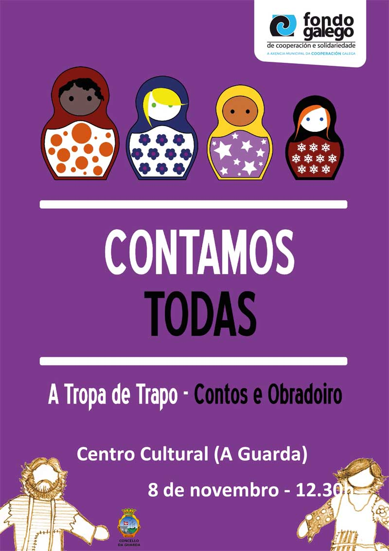 A actuación desenvolverase este xoves día 8 de novembro a partir das 12.30h horas no Centro Cultural da Guarda