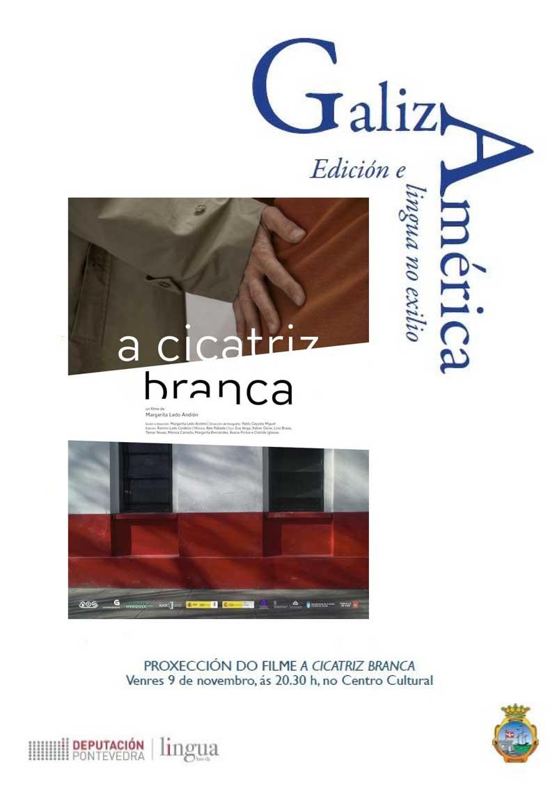 Venres 9 de novembro: proxección do filme 'A cicatriz branca' ás 20:30h no Centro Cultural