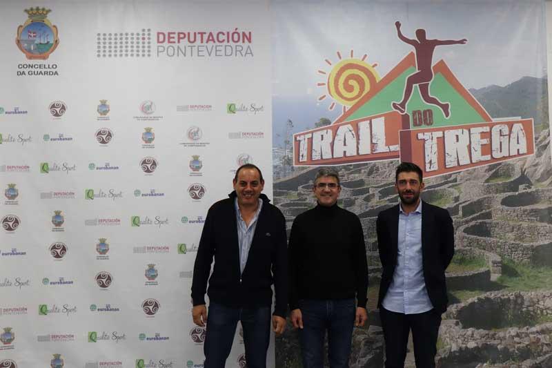 O evento foi presentado este martes na Casa dos Alonso da Guarda, contando coa presenza do Alcalde da Guarda, Antonio Lomba; o Concelleiro de Deportes, Xavier Crespo e o representante de Qualité Sports, Serafín Acevedo.