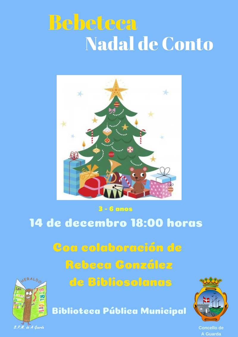 O venres 14 de decembro ás 18:00h a Biblioteca Pública Municipal acolle unha nova sesión da Bebeteca