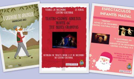 Xa se poden recoller as entradas para as dúas obras de teatro do Nadal e o espectáculo do Apalpador na Guarda