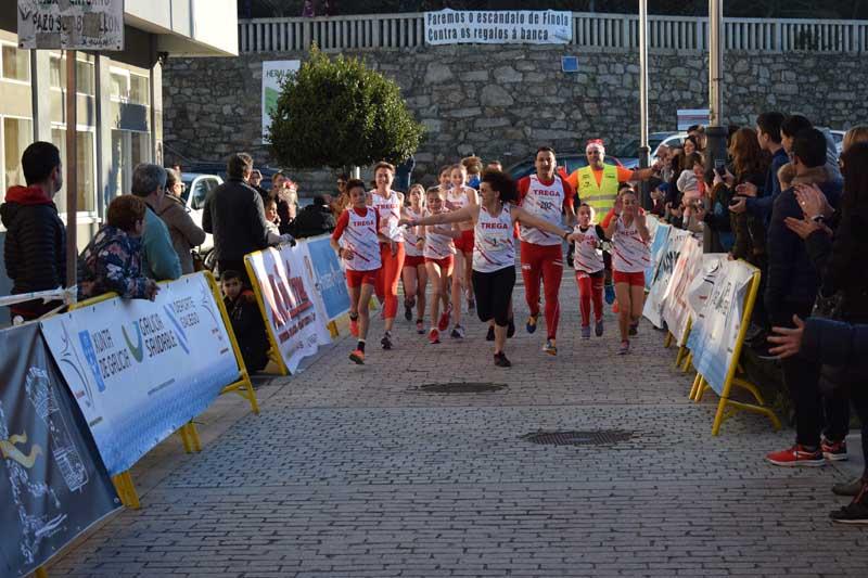 O Evento, organizado por Atletismo Trega en colaboración co Concello da Guarda, contou coa atleta olímpica Julia Vaquero como Madriña desta proba, que animou e asinou autógrafos aos presentes.