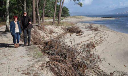 Costas do Estado aproba a redacción do Proxecto de rexeneración do litoral da Lamiña