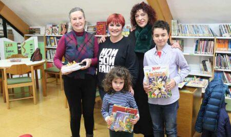 Entregados os premios aos mellores lectores da Biblioteca Pública Municipal da Guarda no ano 2018