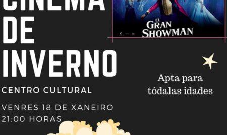 """Este venres continúa o cinema de inverno na Guarda con """"O Gran Showman"""""""