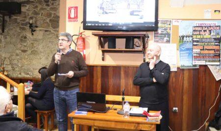 Xoán Martínez Tamuxe falou sobre As Cachadas na primeira Barferencia do ano na Guarda