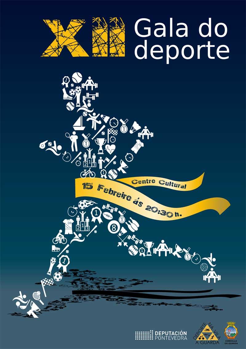 O Centro Cultural da Guarda será o escenario o vindeiro venres día 15 de xaneiro da gran festa do deporte guardés coa celebración da XII Gala do Deporte.