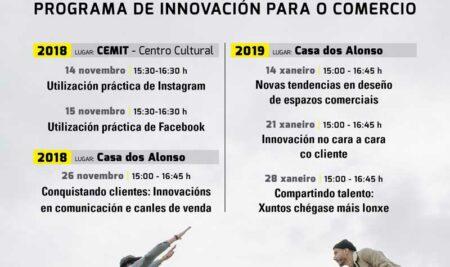 «Comercio Innova Plus» trae este luns á Guarda a Juan Morandeira Vázquez, experto en deseño de espazos comerciais e interiorismo