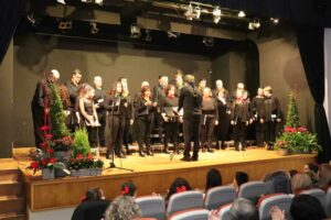 O pasado sábado día 16 de febreiro arrancou no Centro Cultural da Guarda o Ciclo de Música Coral, contando nesta ocasión coa participación do Coro Diapasón de Ferrol, o Coro Arpegios da Guarda e o Coro Cantábile da Guarda.